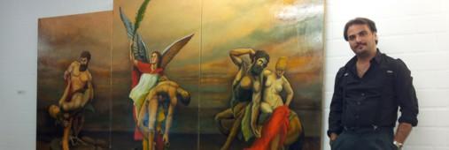 Metaphysischer Altar - Ivano Pellecchia - Ausstellung August 2013