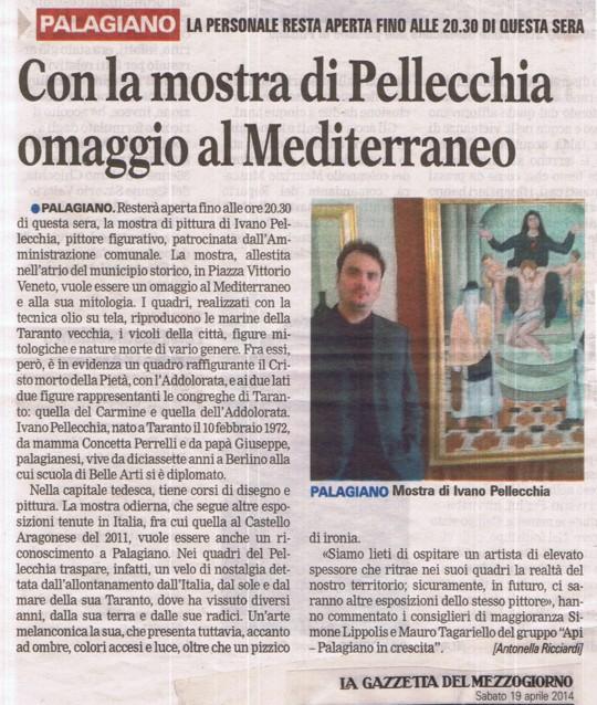 Zeitungsartikel-Ausstellung-Palangiano-Taranto_2014_540x638